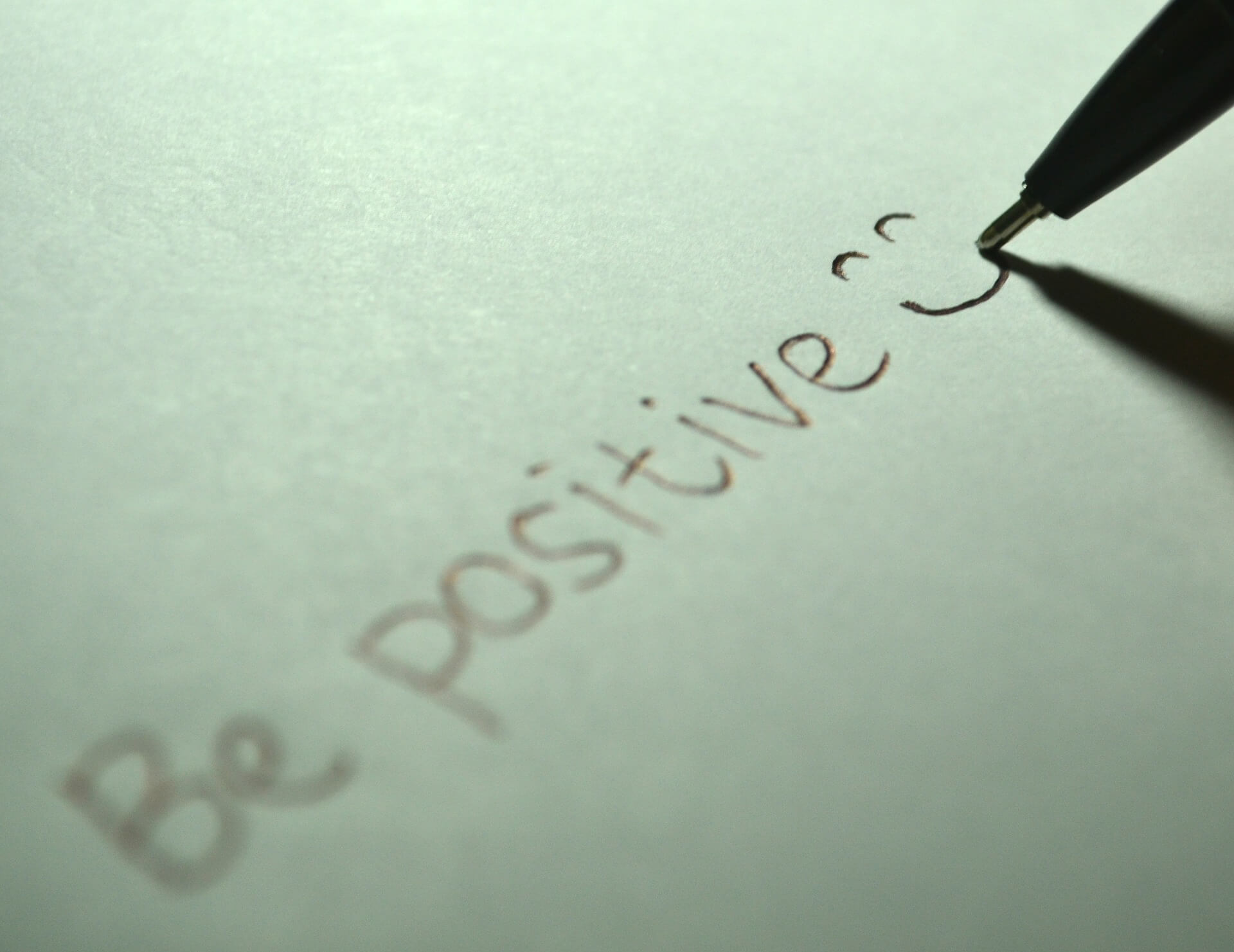 Is Positive Thinking Your Key Personal Business Tool?